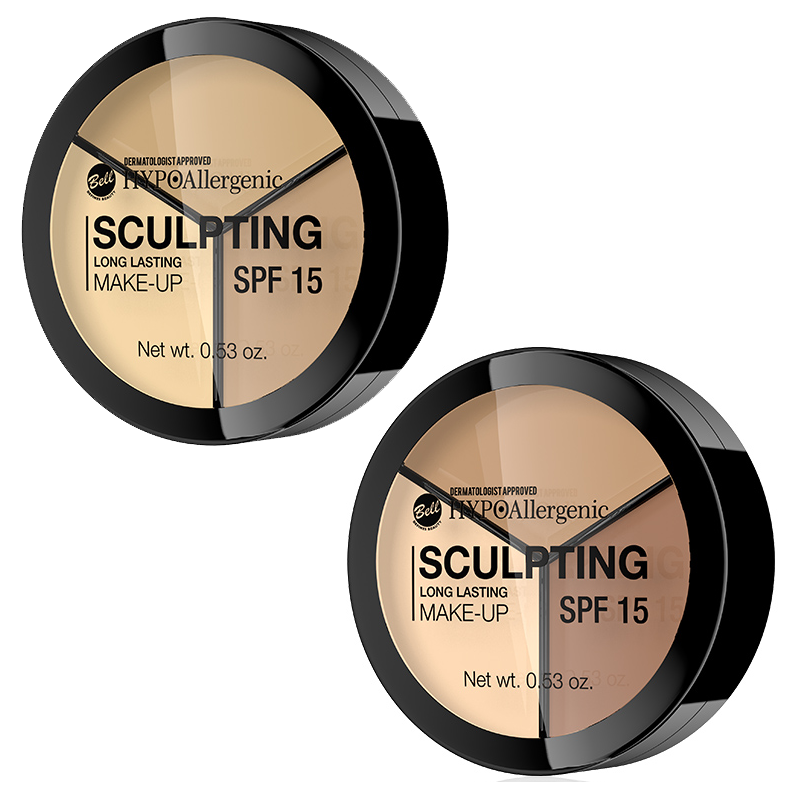 SET Bell HYPOAllergenic Long Lasting Sculpting Make-Up