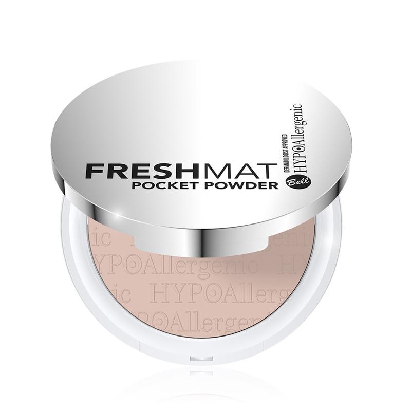 Pudra matifianta pentru fata - Bell HYPOAllergenic Fresh Mat Pocket Powder