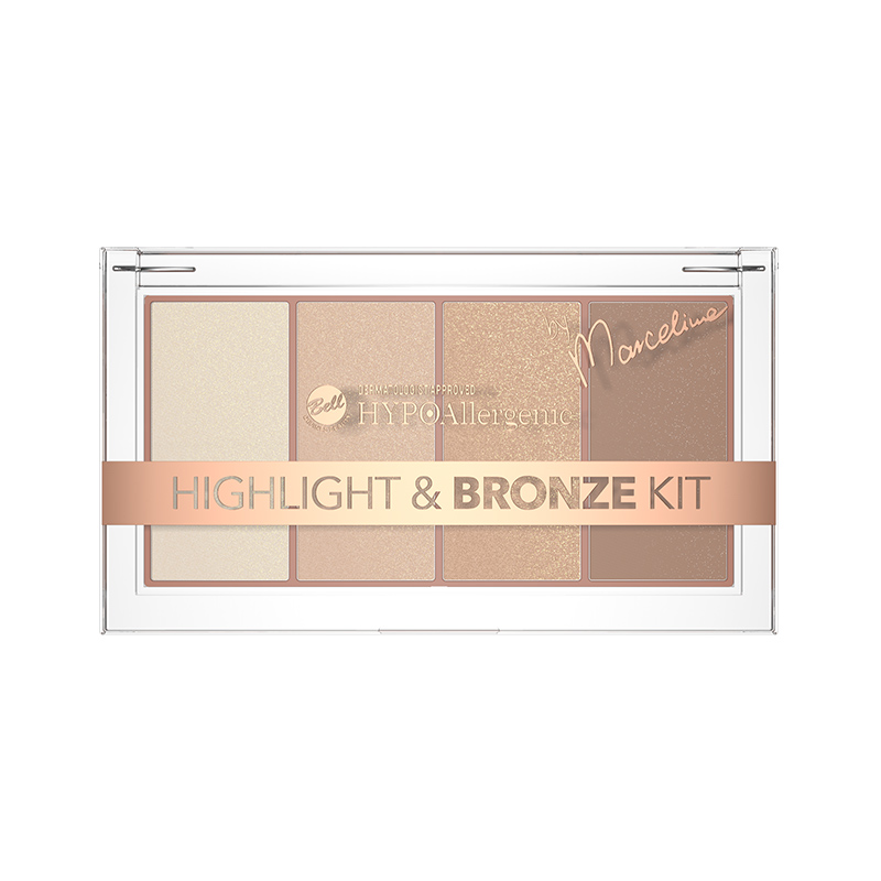 Iluminator si Bronzer - Bell HYPOAllergenic Highlight and Bronze Kit 01