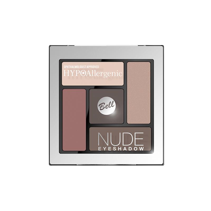 Paleta farduri de pleoape - Bell HYPOAllergenic Nude Eyeshadow