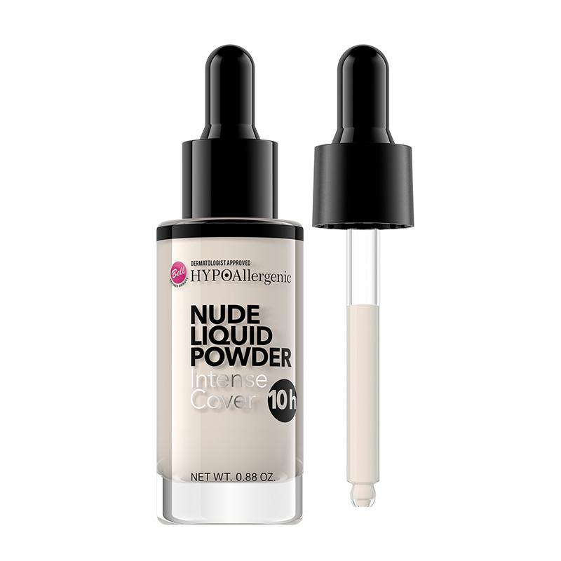 Pudra lichida pentru fata - Bell HYPOAllergenic Nude Liquid Powder